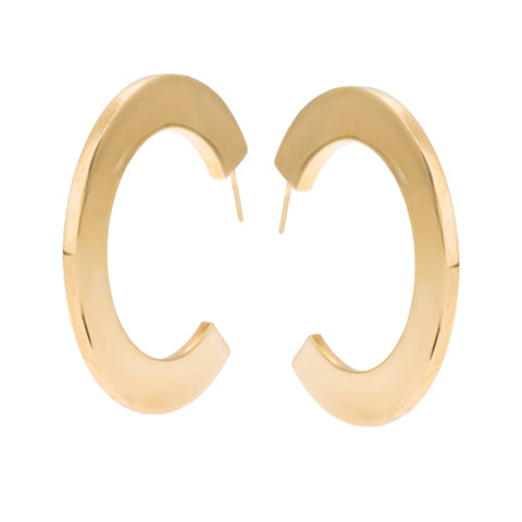 TRIBALE HOOP EARRINGS