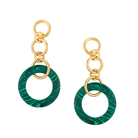 TRIBALE DANGLING LARGE EARRINGS