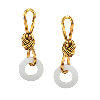 TRIBALE LONG CHAIN EARRINGS