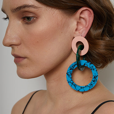 TRIBALE RING EARRINGS