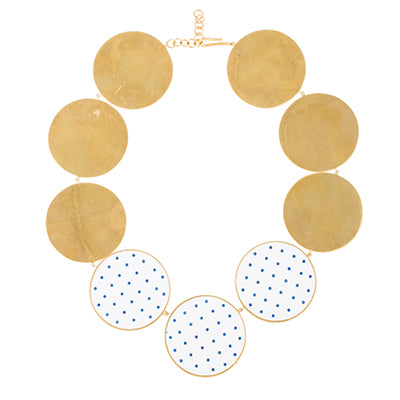 TRIBALE POLKA DOTS NECKLACE
