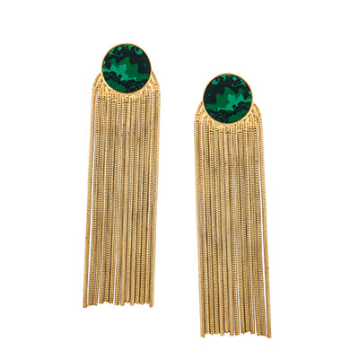 TRIBALE SHOULDER DUSTER EARRINGS