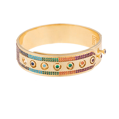 CAP RAINBOW BANGLE