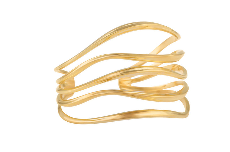 FEMININE WAVES STATEMENT CUFF