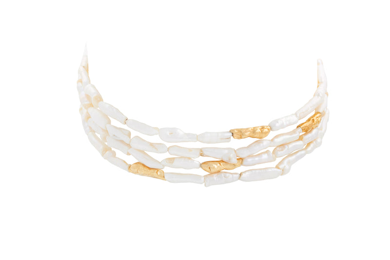 STATEMENT PEARL CHOKER