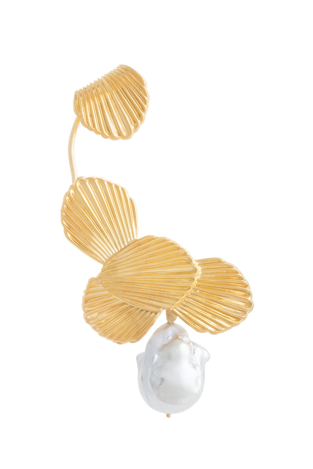 STATEMENT MULTI SEASHELL EAR-CUFF