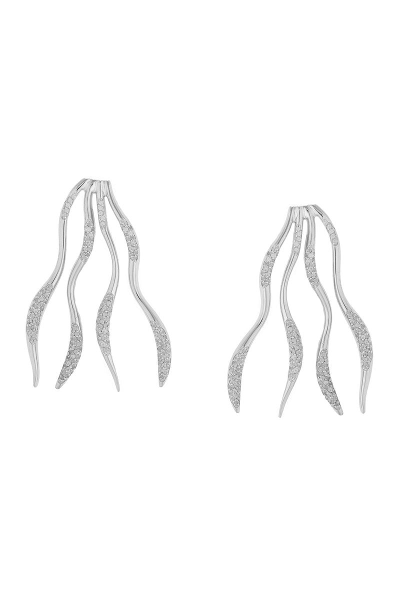 FEMININE WAVES EARRINGS