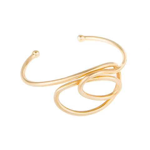LARGE KNOT BANGLE