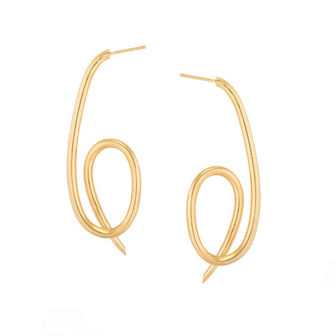 KNOT STATEMENT EARRINGS