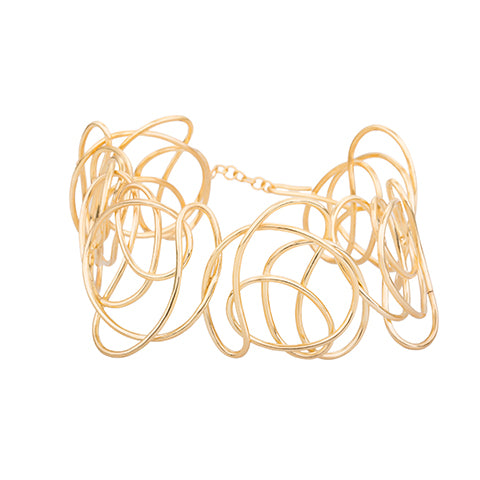KNOT STATEMENT CHOKER NECKLACE