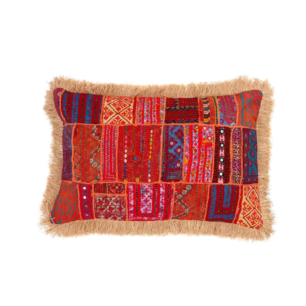 Raja Patchwork Pillow