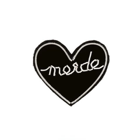 Merde Patch Pin
