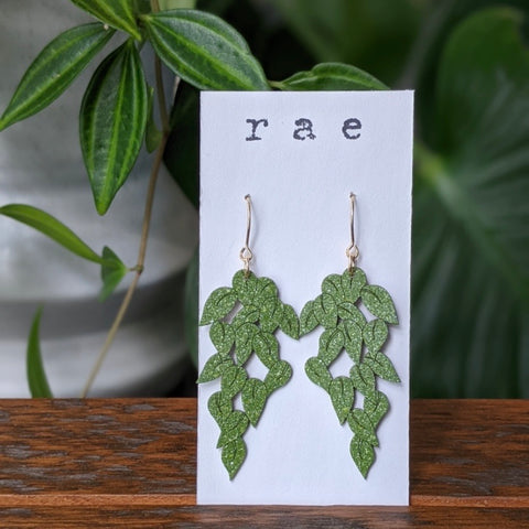 Devil's Ivy Drop Earrings