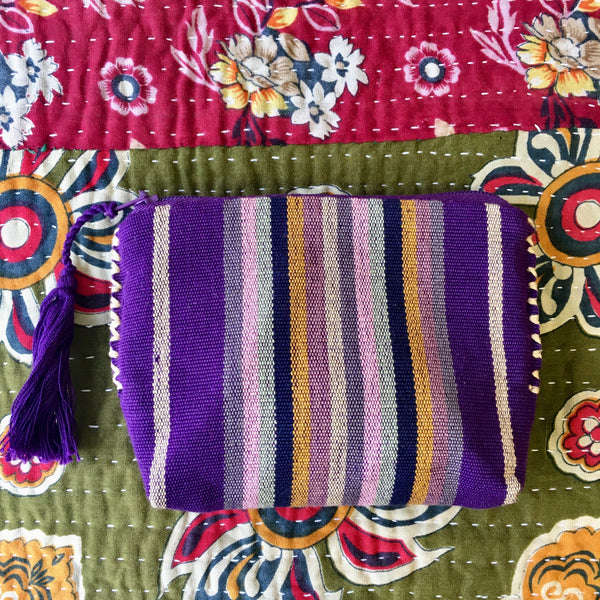 Telar Coin Purse - Purple