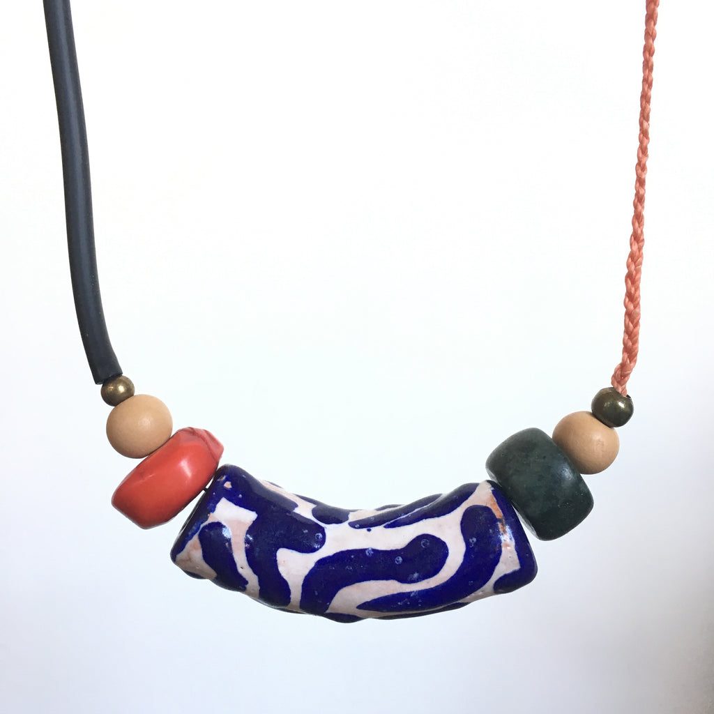 Talavera Tube Necklace