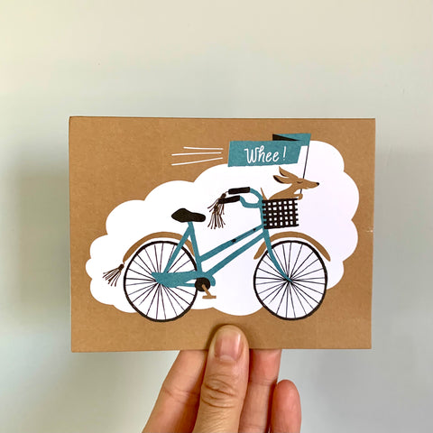 Whee! Bicycle  Card