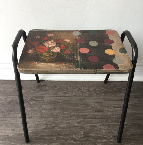 One of a Kind Stacking Stool