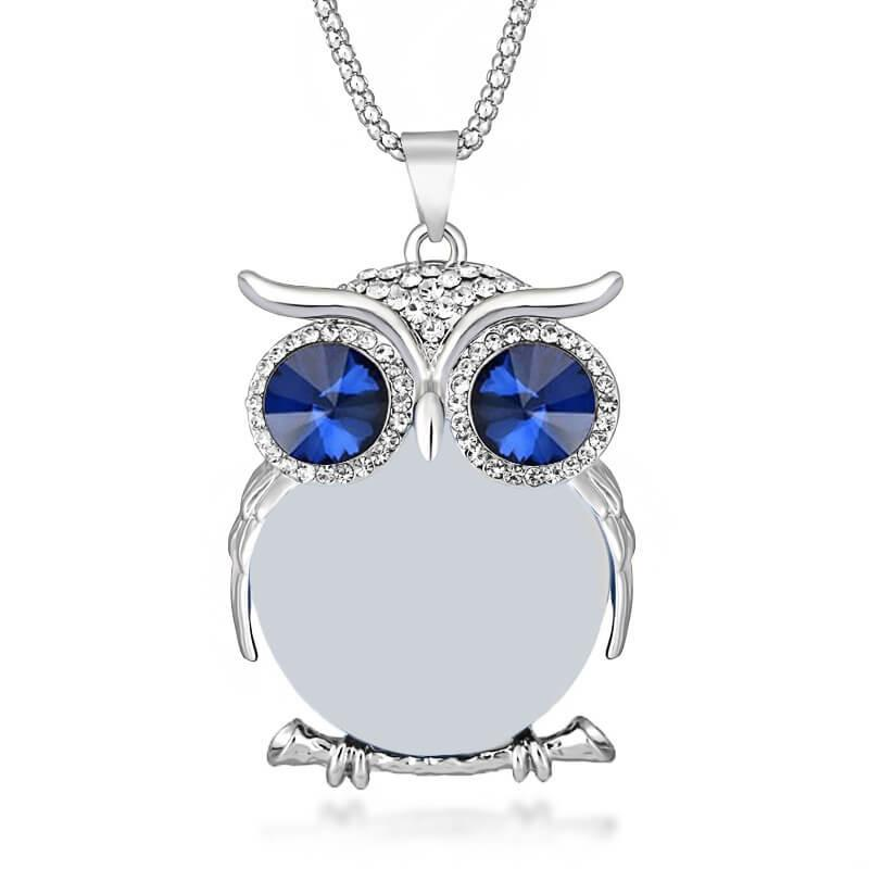 Owl Necklace Pendant