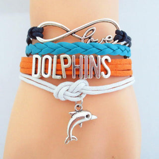Infinity Love Dolphin Multi-layer Bracelet