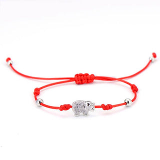 Cute Elephant String Bracelet