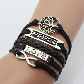 Best Friend Infinity Multi-layer Bracelet