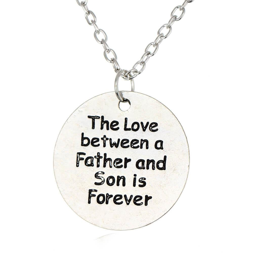 Love Between Father And Son Pendant Necklace