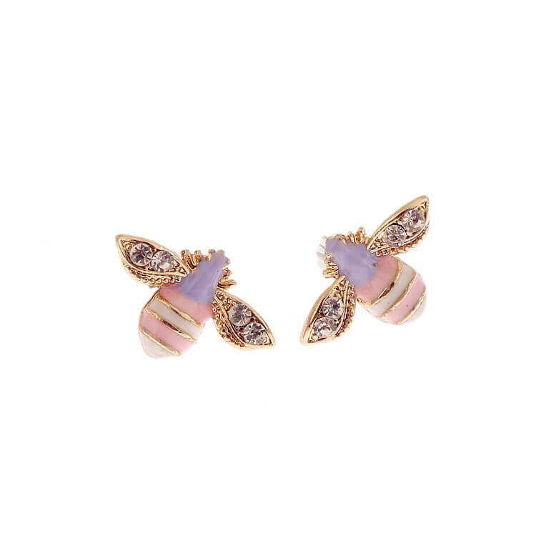 Cute Bee Stud Earrings