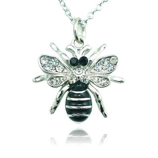 Bee Rhinestone Necklace