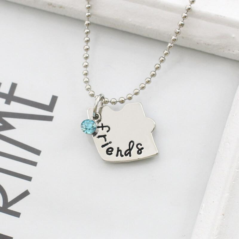 3 Piece Heart Puzzle BFF Pendant Necklaces (includes 3 necklaces)