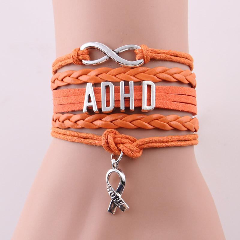 Infinity Hope ADHD Awareness Bracelet
