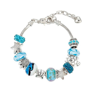 Sea Turtle and Starfish Charm Bracelets