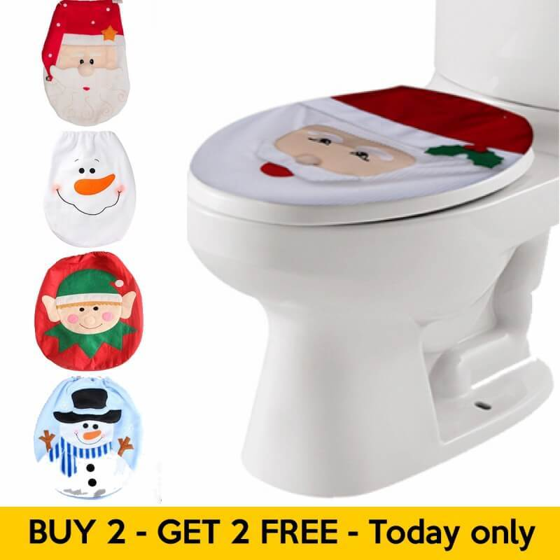 Christmas Decorations Toilet Seat Covers