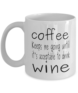 Coffee for Wine Lovers Mug