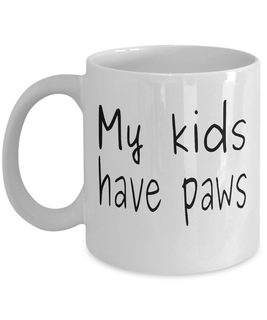 Kids have paws - Limited Edition Mug
