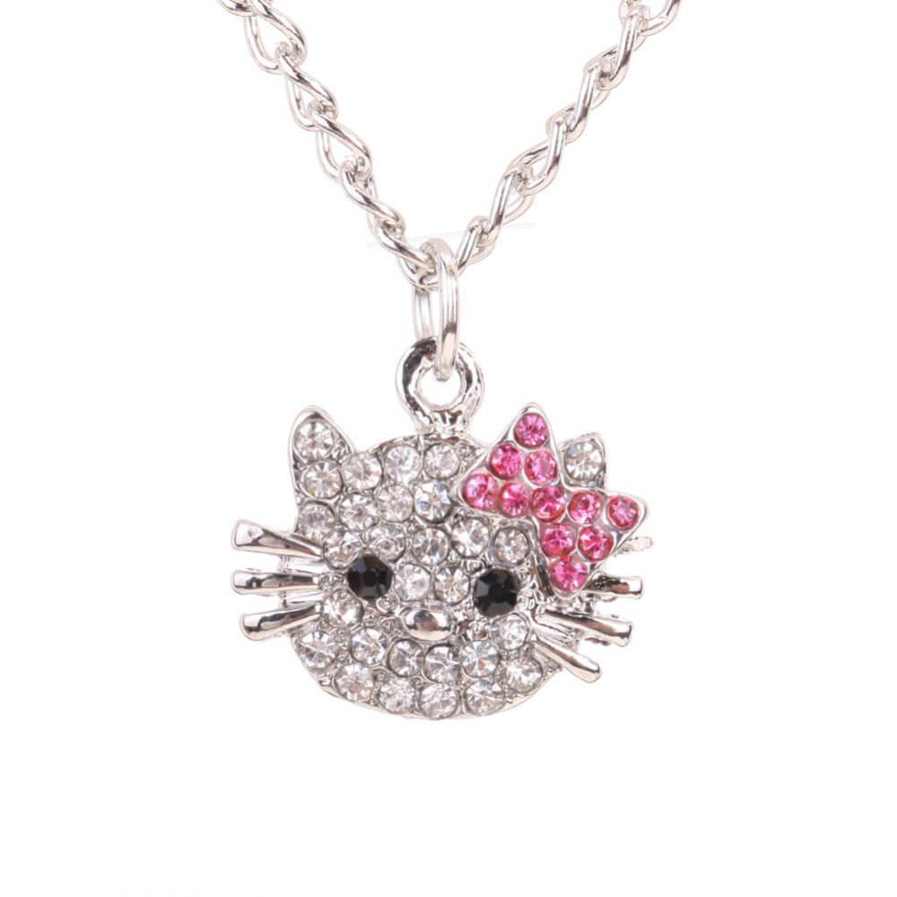 Hello Kitty Pendant Necklace