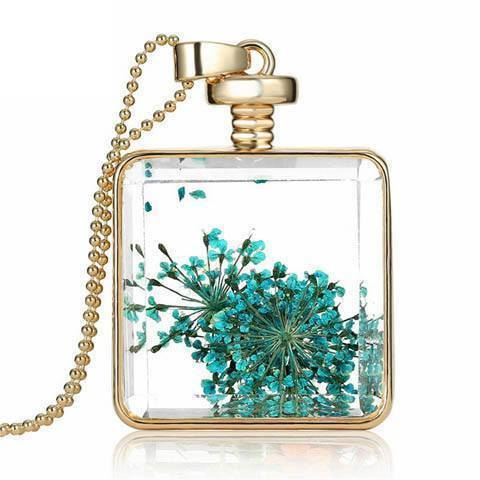 Dried Flowers Necklace - Catrice Devaux - 3