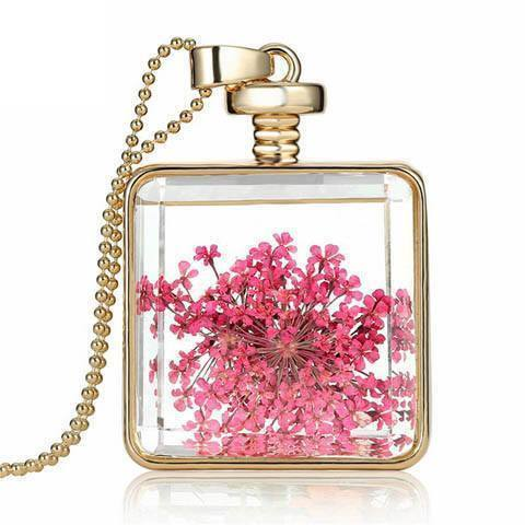 Dried Flowers Necklace - Catrice Devaux - 4
