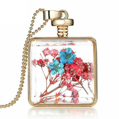 Dried Flowers Necklace - Catrice Devaux - 5