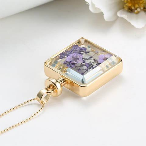 Dried Flowers Necklace - Catrice Devaux - 6