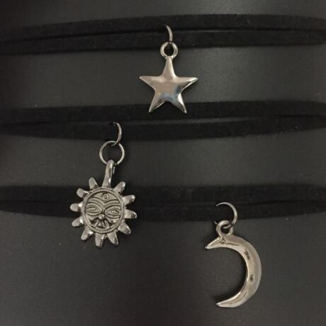 Sun Moon Star Chokers - includes 3 necklaces
