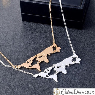 World Map Necklace ✈✈✈