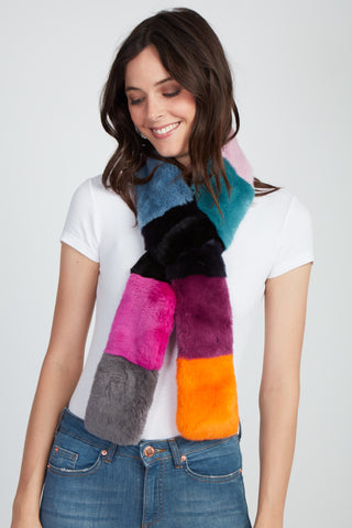 The Karlie Color Block Scarf