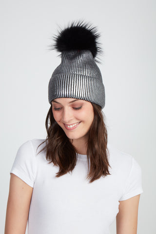 The Kylie Hat - Gunmetal