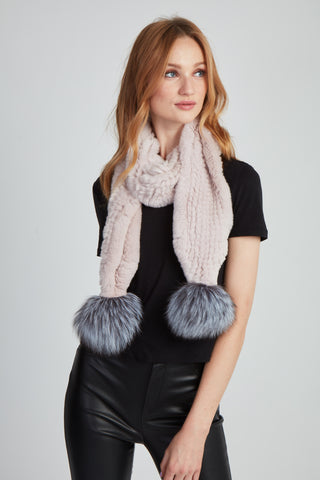 The Jules Scarf - Blush