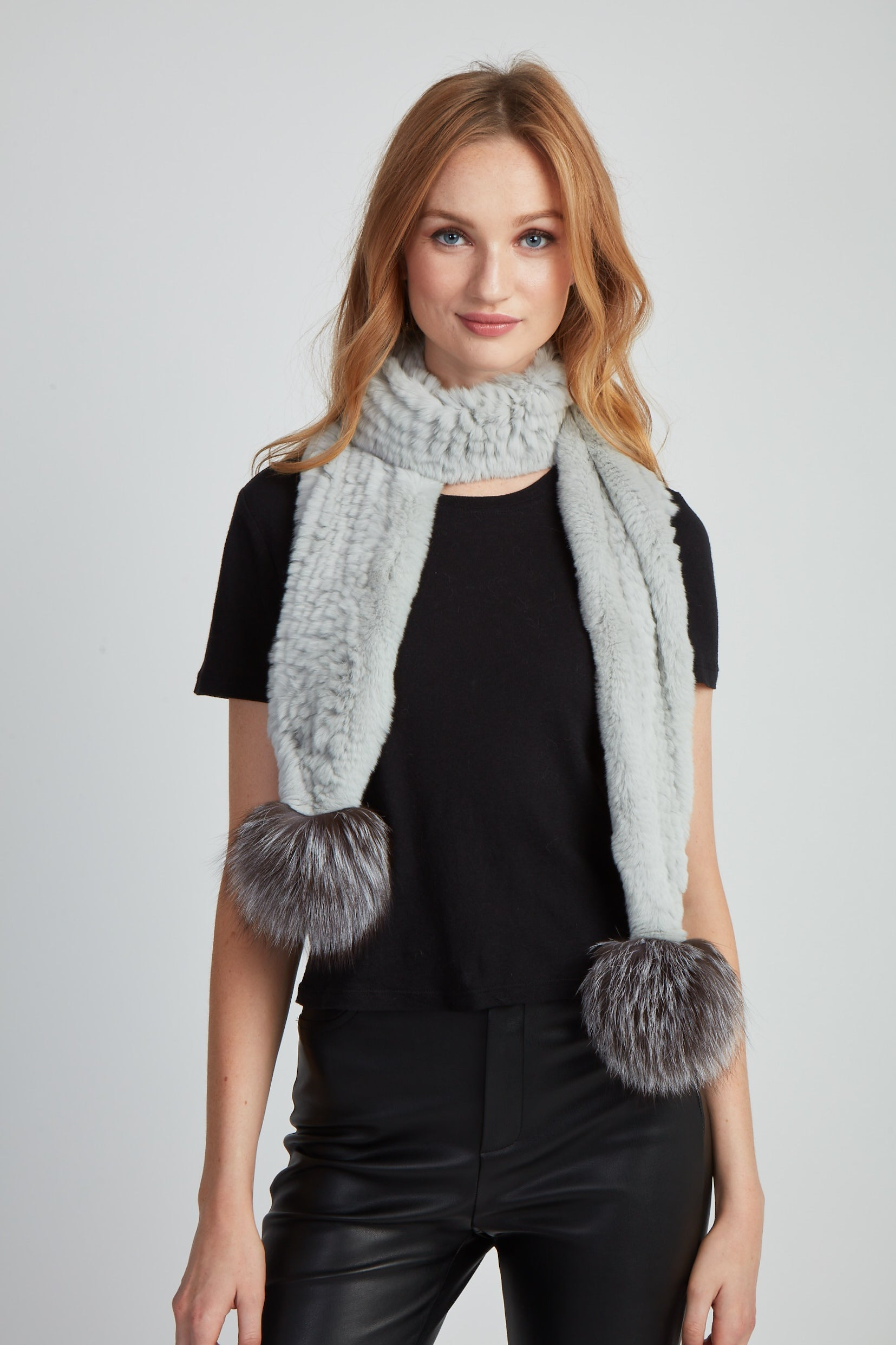 The Jules Scarf - Light Grey