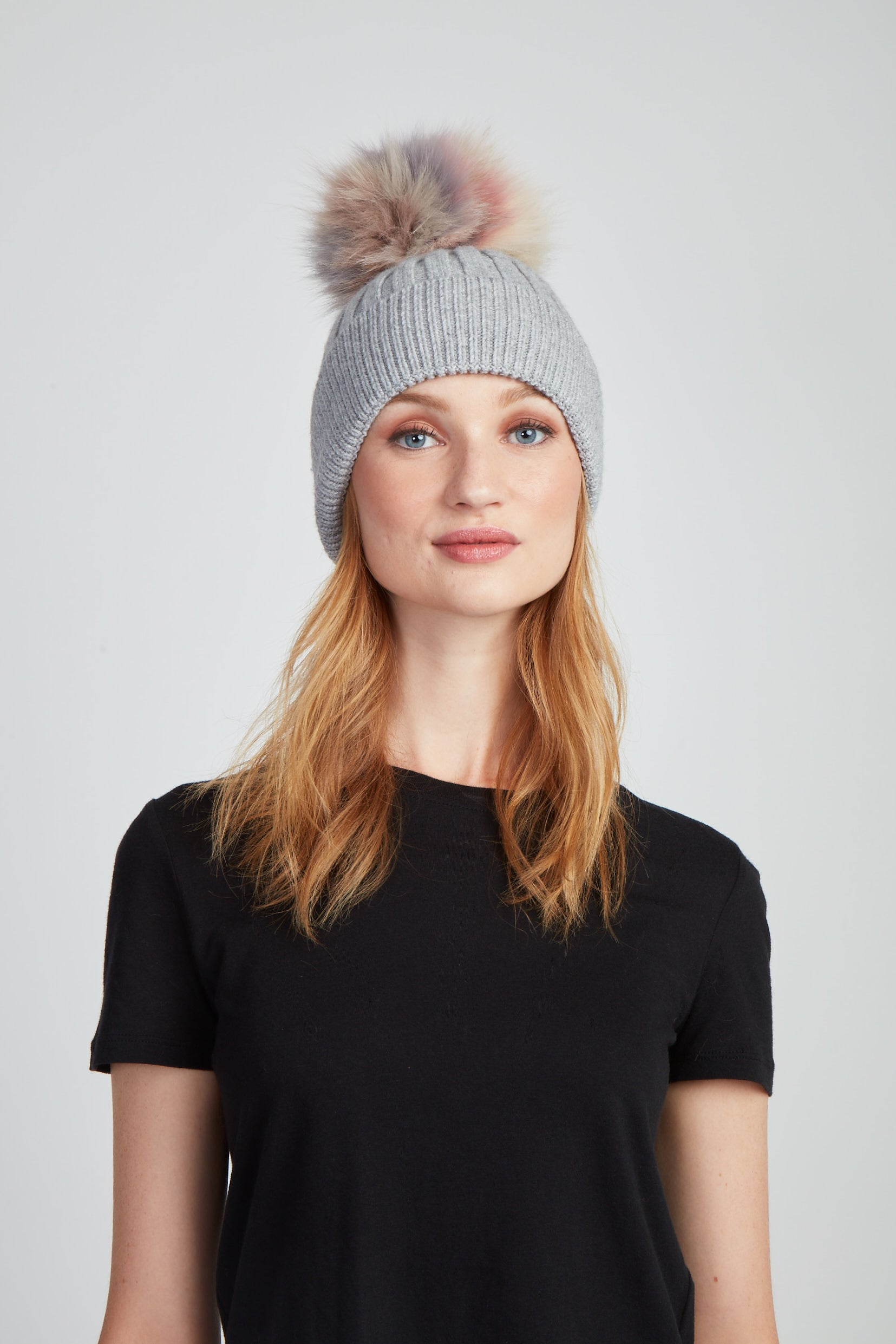 The Chrissy Hat - Grey Multi