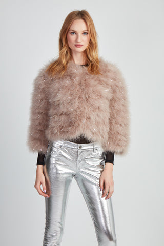 The Fifi Bolero - Blush Metallic