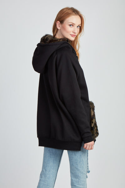 The I'm So Into To You Sweatshirt - Black Camo