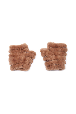 The Mandy Mitten - Faux Fur - Beige