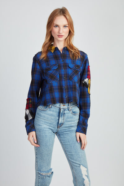 The Let's Patch It Up Flannel